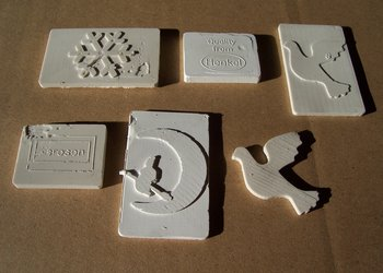 3D Sealant Sample Shapes