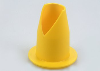 Yellow Cone Nozzle ITR1565 for Extruding Large Volumes from Sachets