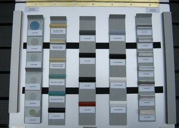 Sample Case Showing 27 Adhesives